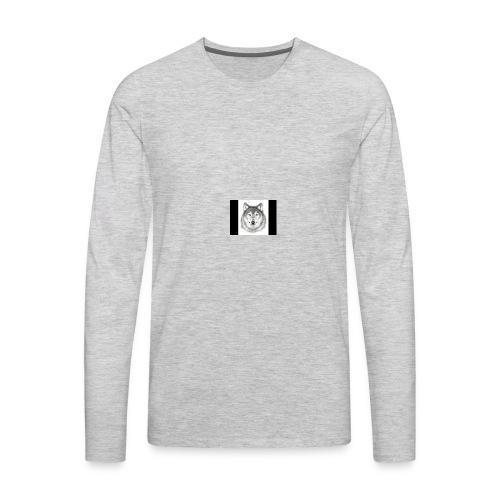 Wolf Gaming Live Stream Shirt - Men's Premium Long Sleeve T-Shirt