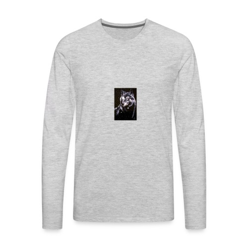 Wolf Pack Merch - Men's Premium Long Sleeve T-Shirt