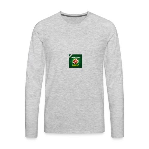 American Football ball - Men's Premium Long Sleeve T-Shirt
