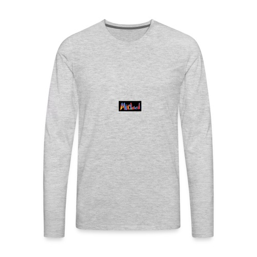 michael fenson - Men's Premium Long Sleeve T-Shirt