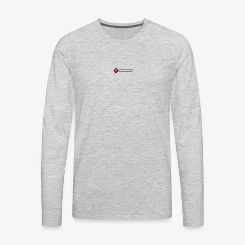 logo dark - Men's Premium Long Sleeve T-Shirt