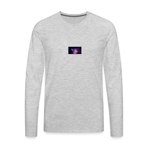 wallpaper for YT BANNER - Men's Premium Long Sleeve T-Shirt