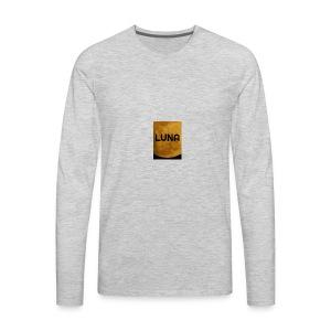 Luna - Men's Premium Long Sleeve T-Shirt