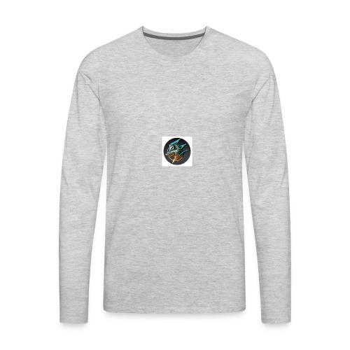 GAMINGWOLFLEECH - Men's Premium Long Sleeve T-Shirt