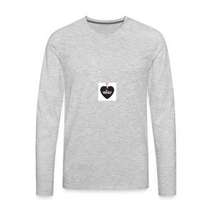 i love dominican republic aifornament r9b9cde7f8c5 - Men's Premium Long Sleeve T-Shirt