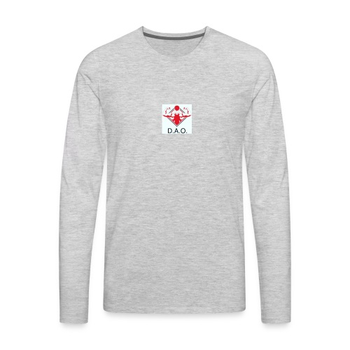 Dominate All Obstacles - Men's Premium Long Sleeve T-Shirt
