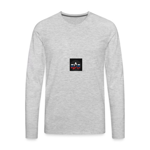 The Alpha Merch - Men's Premium Long Sleeve T-Shirt