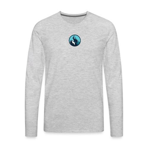 Mountain Animal - Men's Premium Long Sleeve T-Shirt