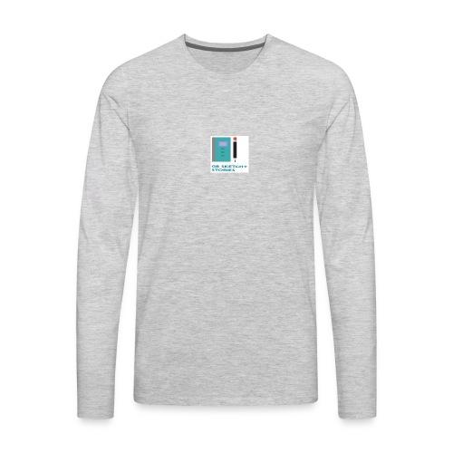 GB Sketchy Stories - Men's Premium Long Sleeve T-Shirt