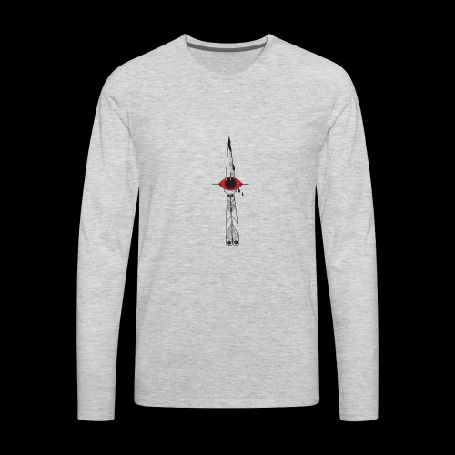ButterflyKnife real - Men's Premium Long Sleeve T-Shirt