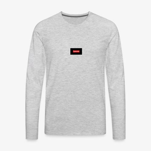Supreme - Men's Premium Long Sleeve T-Shirt