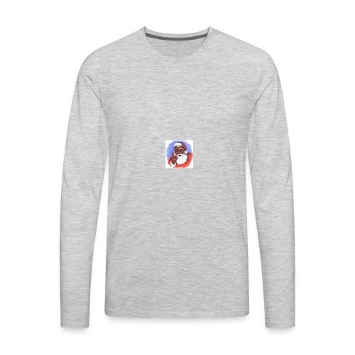 black santa 296x300 - Men's Premium Long Sleeve T-Shirt