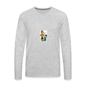 david and goliath - Men's Premium Long Sleeve T-Shirt