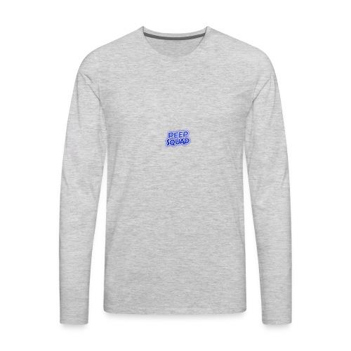 Peep Squad Logo - Men's Premium Long Sleeve T-Shirt