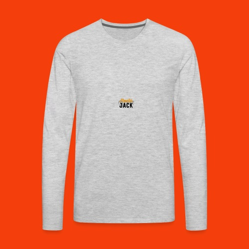 monster jack logo - Men's Premium Long Sleeve T-Shirt