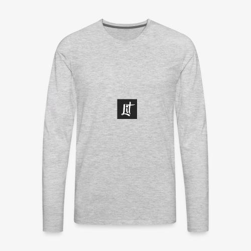 lit logo chest mens premium t shirt - Men's Premium Long Sleeve T-Shirt