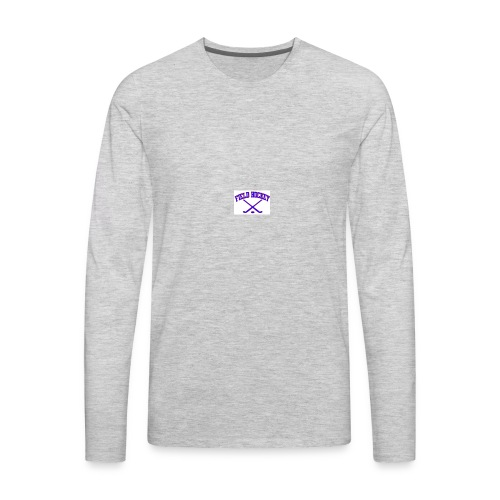 Field Hockey - Keep Fit - Men's Premium Long Sleeve T-Shirt