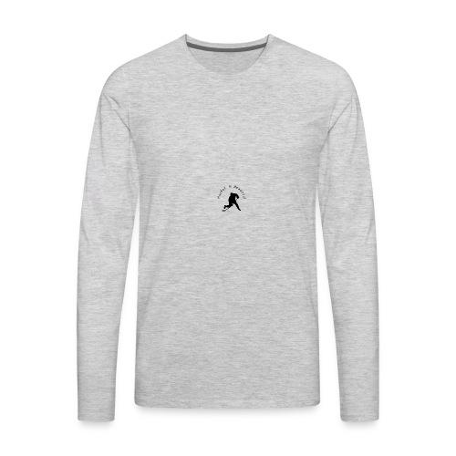 HIB logo - Men's Premium Long Sleeve T-Shirt
