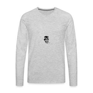 classy skull - Men's Premium Long Sleeve T-Shirt