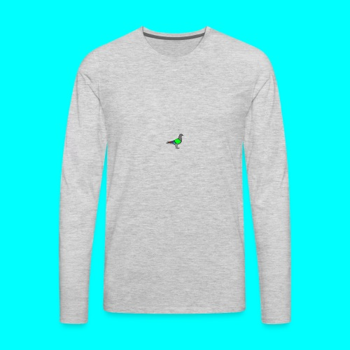 Pigeon - Men's Premium Long Sleeve T-Shirt