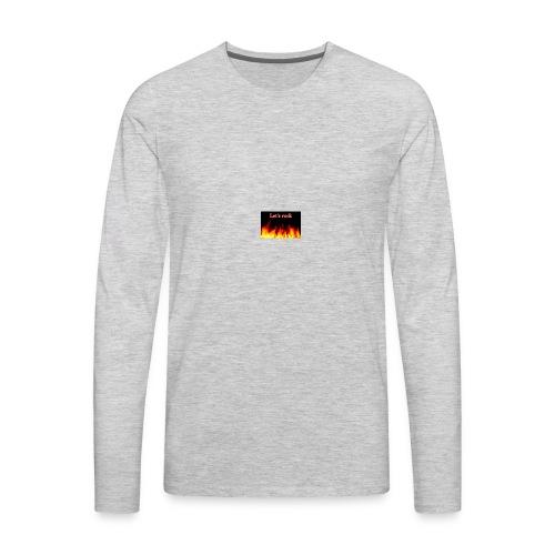 Let's rock - Men's Premium Long Sleeve T-Shirt