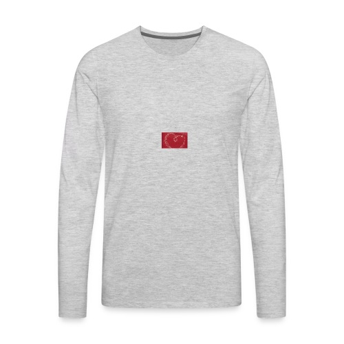 LOVE1 - Men's Premium Long Sleeve T-Shirt