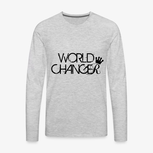 World Changer - Men's Premium Long Sleeve T-Shirt