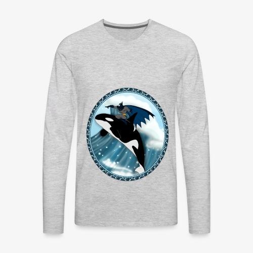 Nananana BATMAN - Men's Premium Long Sleeve T-Shirt