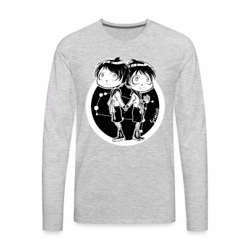Gemini Original Zodiac Sign - Men's Premium Long Sleeve T-Shirt