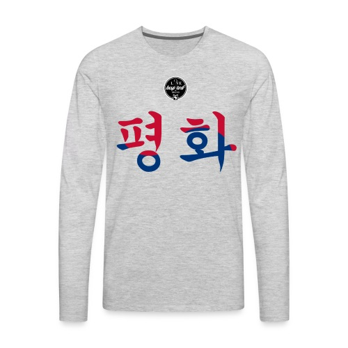Korean Peace - Men's Premium Long Sleeve T-Shirt