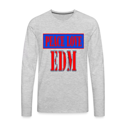 edm - Men's Premium Long Sleeve T-Shirt