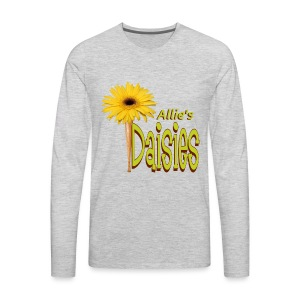 The Daisies Team Logo - Men's Premium Long Sleeve T-Shirt