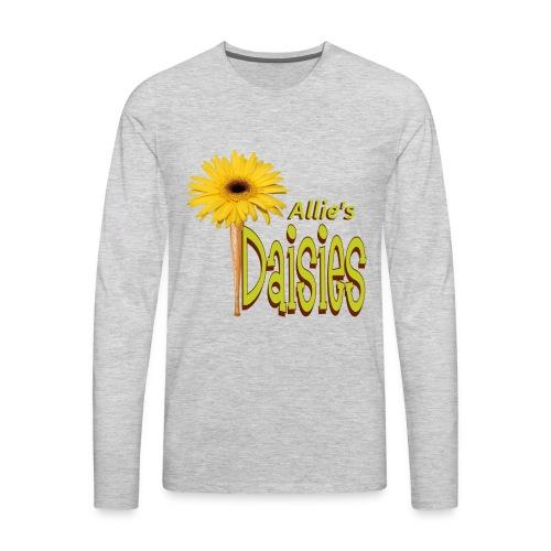 The Daisies Team Logo - Men's Premium Long Sleeve T-Shirt