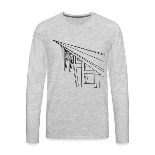 Bridge Vector - Men's Premium Long Sleeve T-Shirt