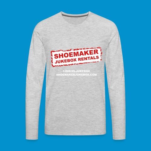 SMJ 2018 TEE SHIRT PRINT B1 - Men's Premium Long Sleeve T-Shirt