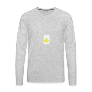 Booster logo - Men's Premium Long Sleeve T-Shirt