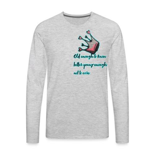 Makeupclass101 - Men's Premium Long Sleeve T-Shirt
