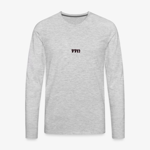 Fat Fly Nation Logo - Men's Premium Long Sleeve T-Shirt