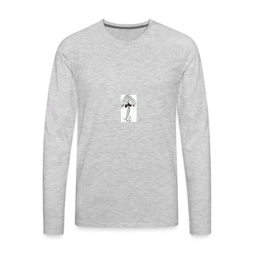 color your own - Men's Premium Long Sleeve T-Shirt