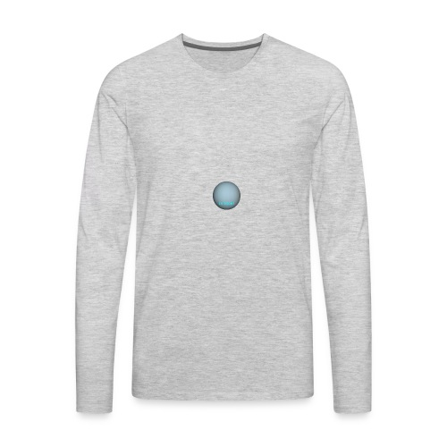 Uranus is nice - Men's Premium Long Sleeve T-Shirt
