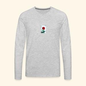 Kiss by a rose - Men's Premium Long Sleeve T-Shirt