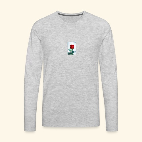 Kiss by a rose - Men's Premium Long Sleeve T-Shirt