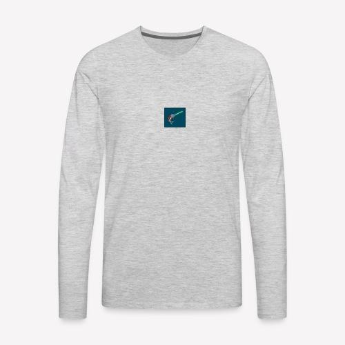 jedi narwhal - Men's Premium Long Sleeve T-Shirt