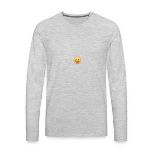 Blah - Men's Premium Long Sleeve T-Shirt