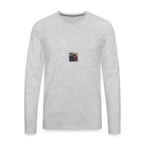 hey hello im chinese - Men's Premium Long Sleeve T-Shirt