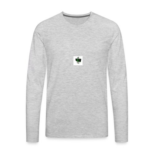 roblox fan's - Men's Premium Long Sleeve T-Shirt