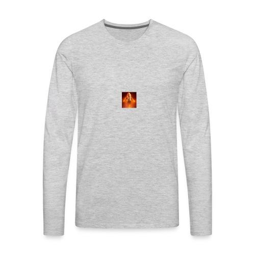 Fiery girls Rule - Men's Premium Long Sleeve T-Shirt