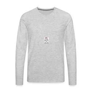 Love you this much - Men's Premium Long Sleeve T-Shirt
