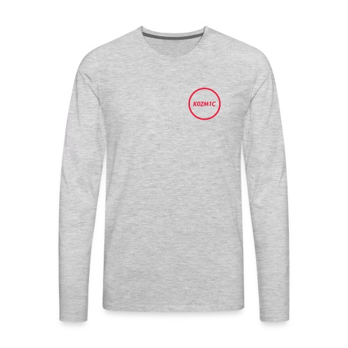 K0ZM1C Signature - Red - Men's Premium Long Sleeve T-Shirt