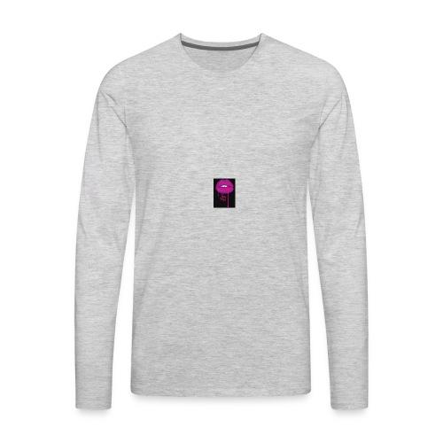 lean kiss - Men's Premium Long Sleeve T-Shirt